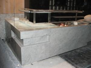 Carrara Marble counter 300x225 - Carrara Marble counter